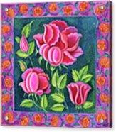 Pink Flowers Acrylic Print