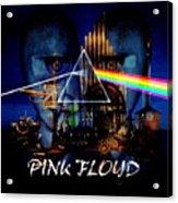 Pink Floyd Montage Acrylic Print