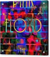 Pink Floyd The Wall Acrylic Print