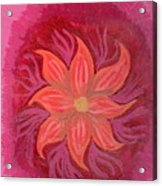 Pink Fusion Acrylic Print