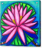 Pink Gem 2 Acrylic Print