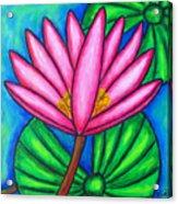 Pink Gem 3 Acrylic Print
