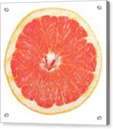 Pink Grapefruit Acrylic Print by James BO  Insogna