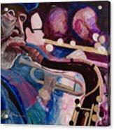 Pink Jazz Acrylic Print