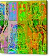 Pink Lounge II Acrylic Print