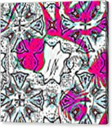 Pink Octopus Acrylic Print