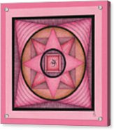 Pink Om Thing Acrylic Print