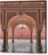 Pink Palace Acrylic Print