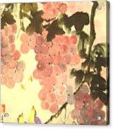 Pink Romance Acrylic Print