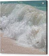 Pink Sand Beaches Acrylic Print