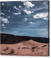 Pink Sand Dunes Np Acrylic Print