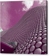 Pink Selfridges Acrylic Print