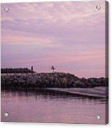 Pink Skies At Dawn Acrylic Print