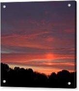 Pink Sky At Sunrise Acrylic Print