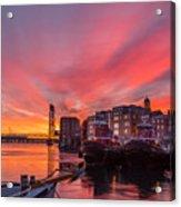 Pink Sunrise Acrylic Print