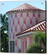 Pink Tower Acrylic Print