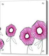 Pink Up Acrylic Print