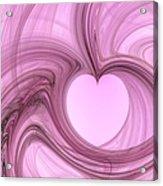 Pink Valentine Acrylic Print