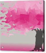Pink Wind Acrylic Print