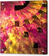 Pink Windows Acrylic Print