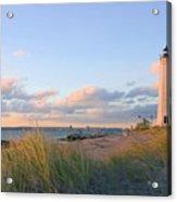 Pinkish Lighthouse Acrylic Print
