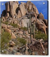 Pinnacle Peak Acrylic Print