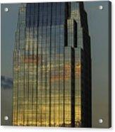 Pinnacle Sunset Reflection Acrylic Print