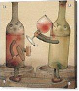 Pinot Noir And Chardonnay Acrylic Print