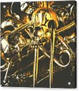 Pins Of Horror Fashion Acrylic Print
