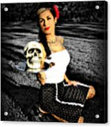 Pinup And Percy Acrylic Print