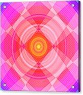 Pinwheel In Motion Acrylic Print