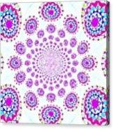Pinwheel Pop Acrylic Print