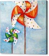 Pinwheels Acrylic Print