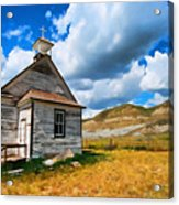 Pioneer Church 1 Acrylic Print