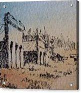 Pioneer Ghost Town Montana Acrylic Print