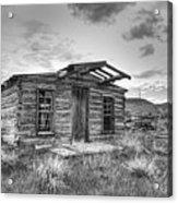 Pioneer Home - Nevada City Ghost Town Acrylic Print