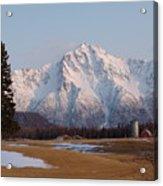 Pioneer Peak Alaska Acrylic Print
