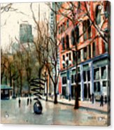 Pioneer Square Acrylic Print