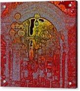 Pioneer Square Pergola 2 Acrylic Print