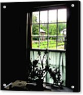Pioneer Window Acrylic Print