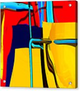 Pipe Dream Acrylic Print by Richard Rizzo