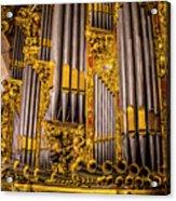 Pipe Organ Detail Acrylic Print