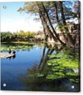 Pipe Springs Pond Acrylic Print