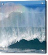 Pipeline Rainbow Acrylic Print