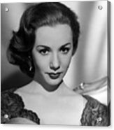 Piper Laurie, 1954 Acrylic Print