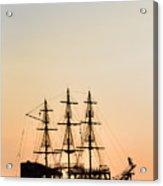 Pirate Boat Acrylic Print