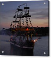 Pirate Invasion Acrylic Print