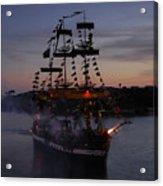Pirate Invasion Acrylic Print by David Lee Thompson