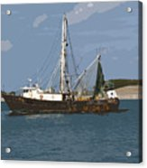 Pirate One Acrylic Print