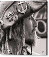 Pirate Profile Acrylic Print